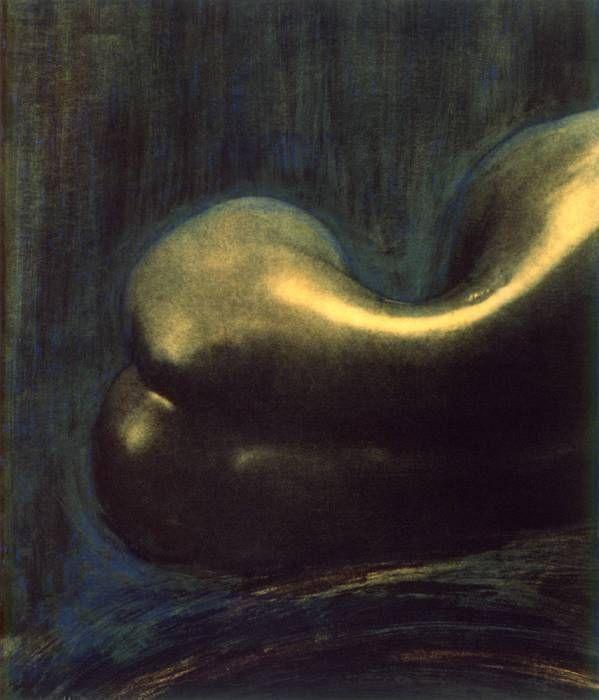 Poivron-nu dos, couleurs (1995)
