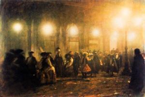 Venise: Retour de fête, 1989