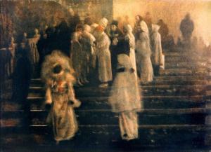 Venise: Sur les marches, 1989