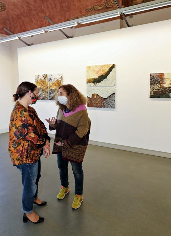salle Hala Hilmi-Hodeib : Virginie Salvo et H.Hilmi-Hodeib