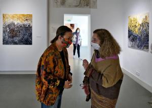salle J.Godard & H.Hilmi-Hodeib : Virginie Salvo et H.Hilmi-Hodeib