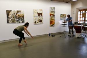 clôture, salle H. Hilmi-Hodeib : Sophie Jégou et Thierry Miroglio