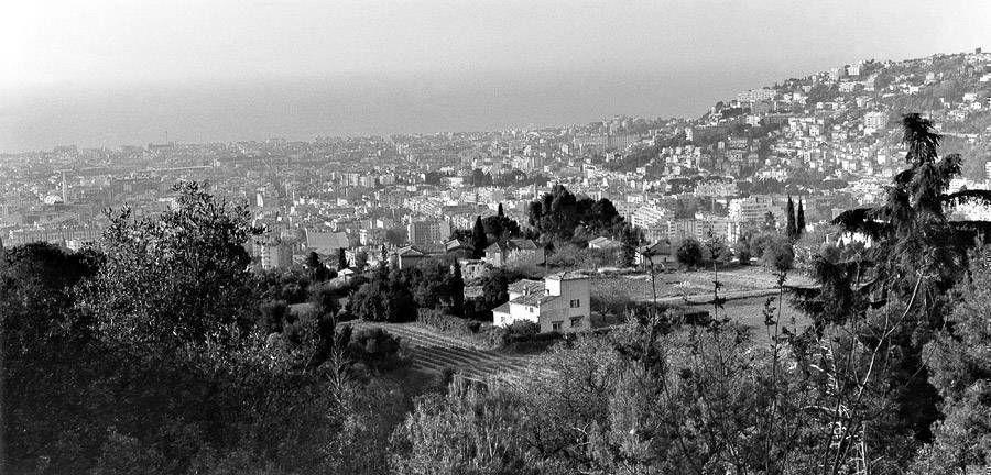 Nice vue des collines de Gairaut