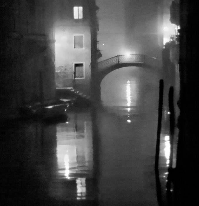 Pont sur Rio del Vin, noir