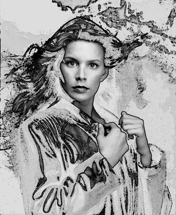 Portrait au blouson - 1998